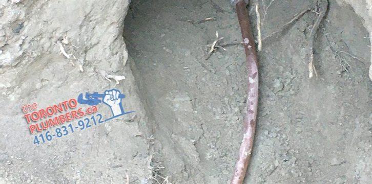 Water service upgrade plumber Toronto